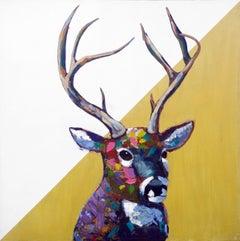 Night Shift, Painting, Acrylic on Canvas