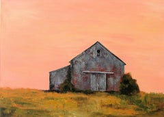 Orchard Barn, Painting, Oil on Canvas