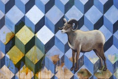 Random Access Memory, Painting, Oil on Wood Panel