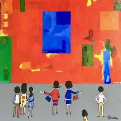 The Hans Hofmann Museum, Painting, Acrylic on Canvas