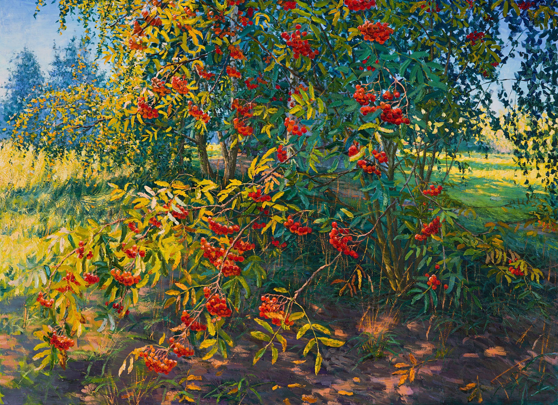 Rowan, Painting, Oil on Canvas