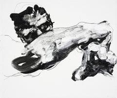 Faltering man, Painting, Acrylic on Canvas