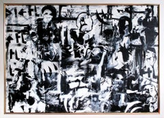Black & White, Painting, Acrylic on Canvas