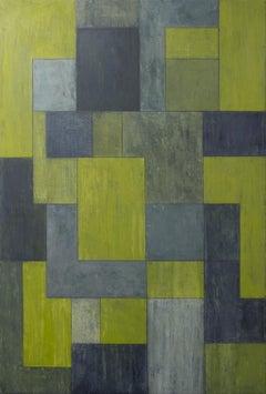 urban paradise, Painting, Oil on Canvas