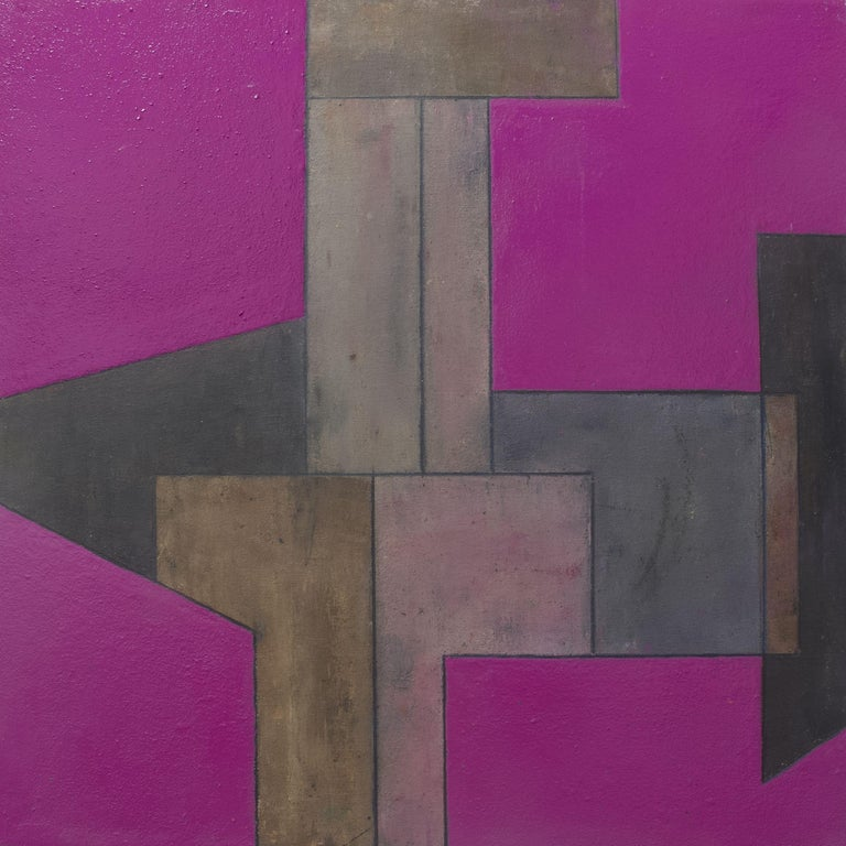 Stephen Cimini Abstract Painting - Picture of Something #2, Painting, Oil on Canvas