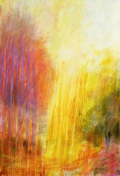 Rain of light, Painting, Acrylic on Canvas