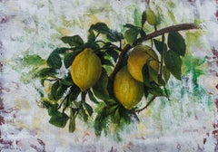 """""""Fragrance of the lemon trees"""", Painting, Oil on Canvas"""