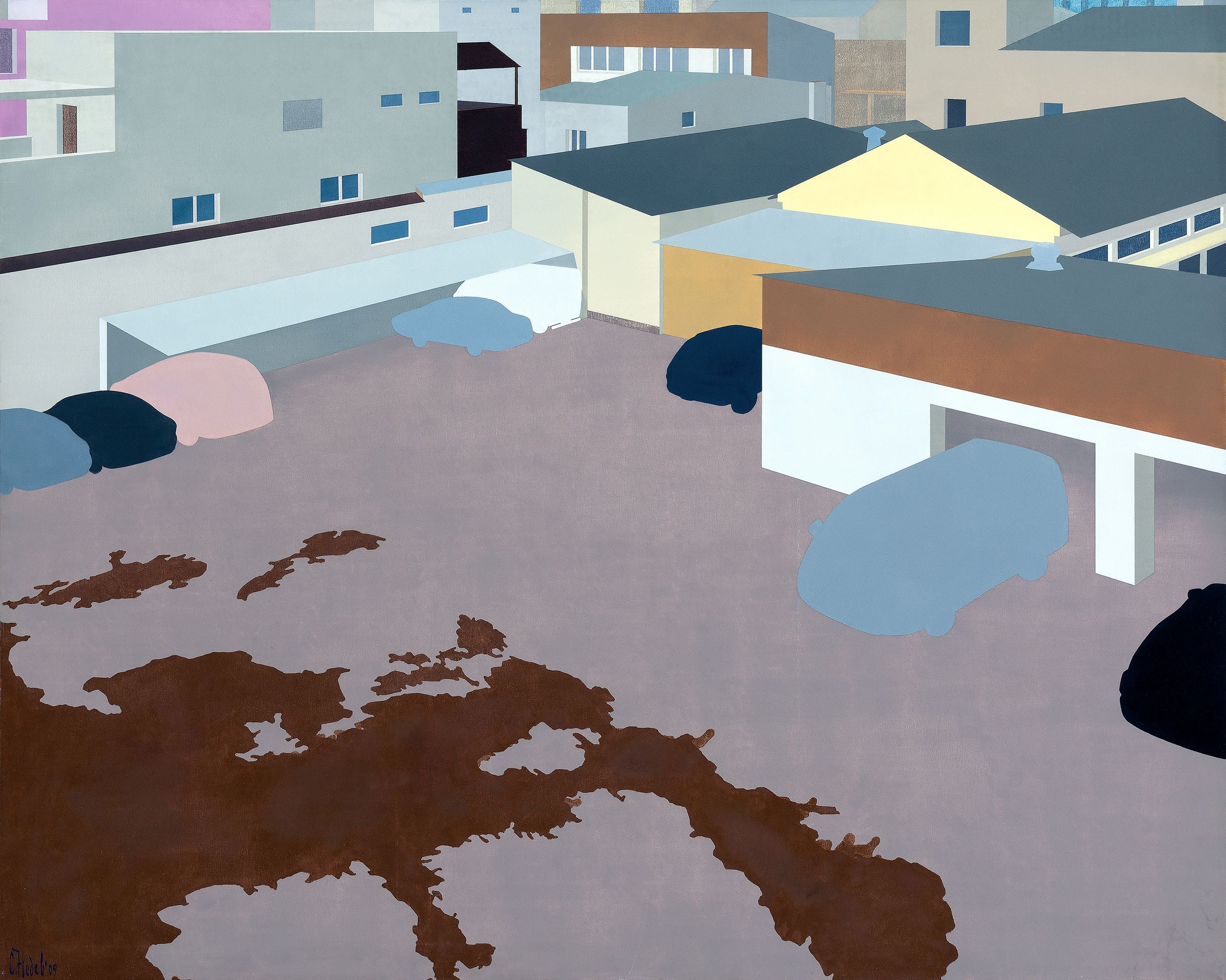 Post-urban Vision No. 5, Painting, Oil on Canvas