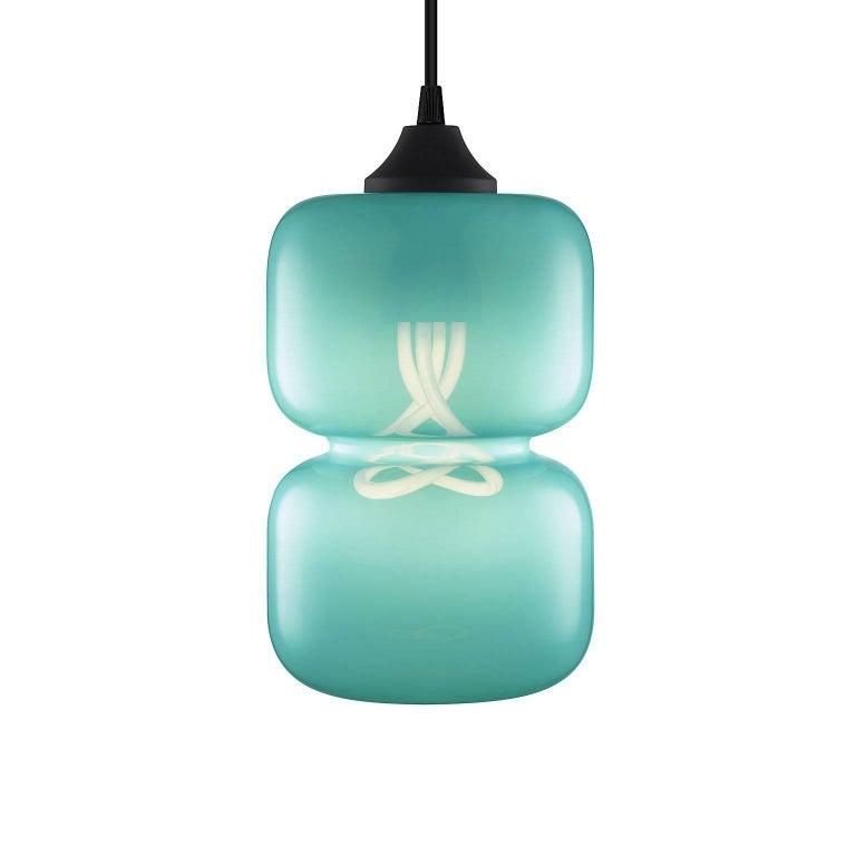 Pinch Chroma Cielo Handn Modern Gl Pendant Light Made In The Usa For