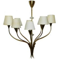 Maison Arlus 1940s French Chandelier