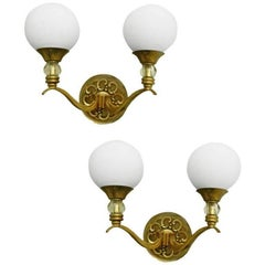 Maison Lunel Pair of Sconces