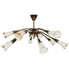 Royal Lumiere 12 Lights Flush Mount