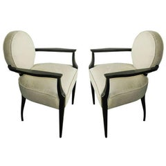 Pair of Armchairs by Dominique
