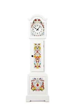 Moooi Altdeutsche Clock in Hand-Painted Pine by Studio Job
