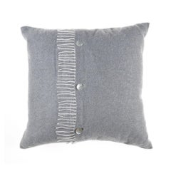 Gianfranco Ferré Sindia Pillow in Grey Cashmere