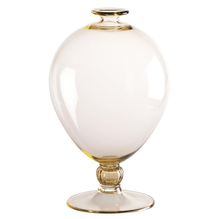 Veronese Vase In Murano Glass By Mimmo Paladino For Sale At 1stdibs