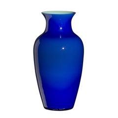 Standard I Cinesi Vase in Cobalt Blue by Carlo Moretti