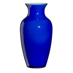 Large I Cinesi Vase in Cobalt Blue by Carlo Moretti