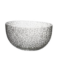 Millebolle Bowl with Spotted White Detail by Carlo Moretti