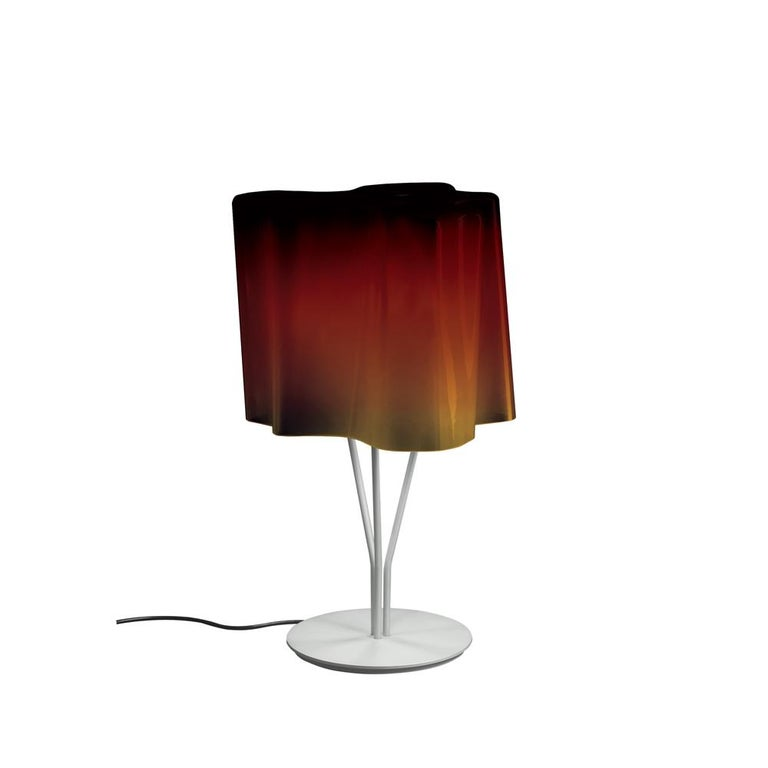 Logico Table Lamp in Tobacco by Gerhard Reichert & Michele De Lucchi For Sale