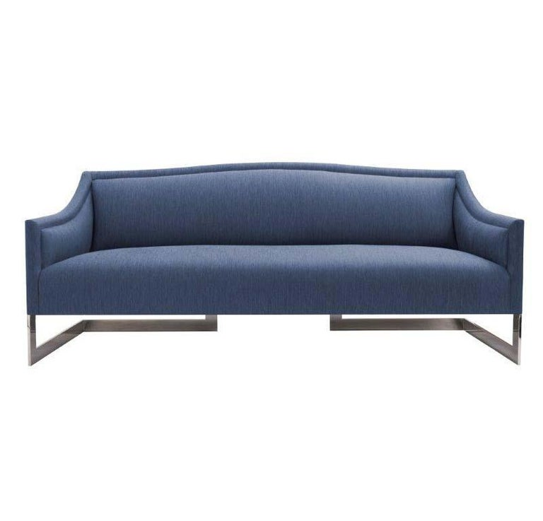 Donghia Toulouse Air Sofa In Greek Silk And Cotton Upholstery For