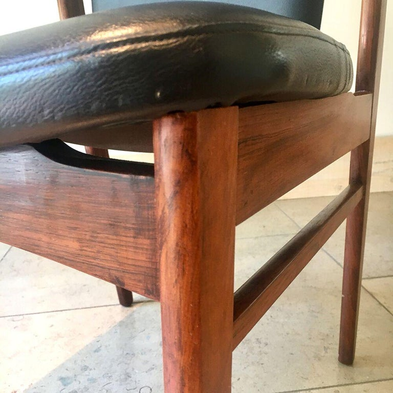 Substantial Danish Eric Buck Designed Desk Chair, 1960s For Sale 1