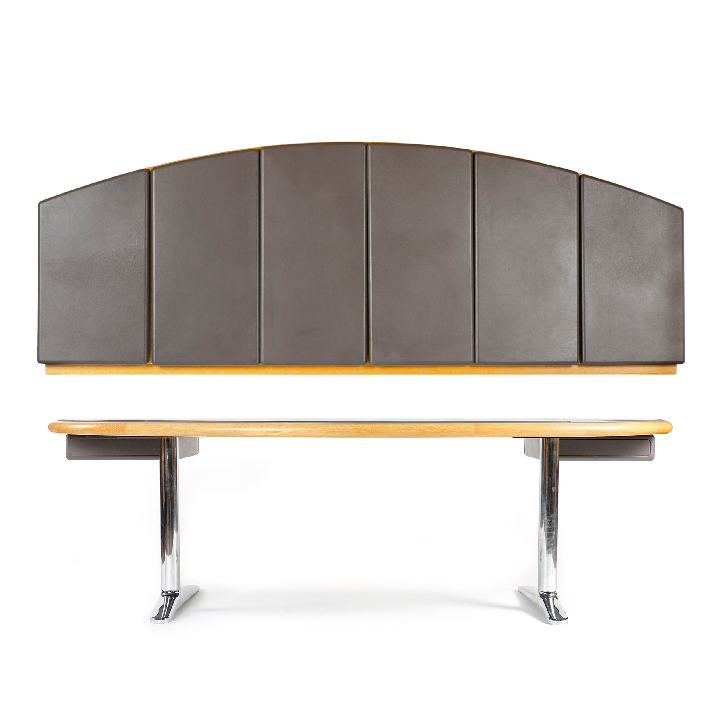 1970s Executive Office Desk by Warren Platner for Knoll