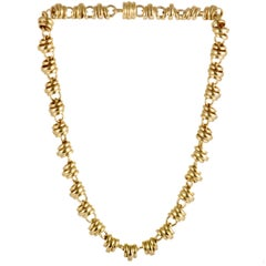 Pomellato 18 Karat Yellow Gold Choker Necklace