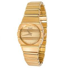 Piaget Polo 861 C701 Women's Watch in 18 Karat Yellow Gold