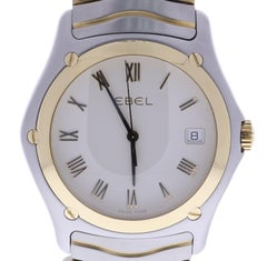 Certified Ebel Classic Wave E1187F41 38 Millimeters Off-White Dial