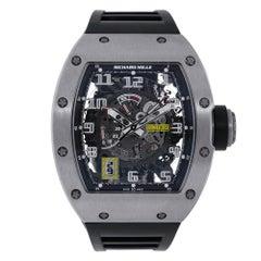Certified Richard Mille RM030 Titanium Automatic Watch
