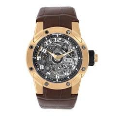 Certified Richard Mille Dizzy Hands Rose Gold Watch RM63-01