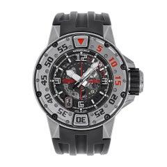 Certified Richard Mille RM 028 Automatic Titanium Diver's Watch RM028