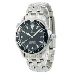 Certified Omega Seamaster 2262.50.00 Men's Quartz Watch Stainless Steel