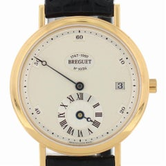 Certified Breguet Classique 1747BA with Band and White Dial