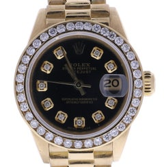 Certified 1982 Rolex Datejust 6917 Black Dial