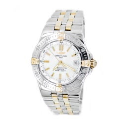Certified 2001 Breitling Chronometer B71340 Mother of Pearl Dial