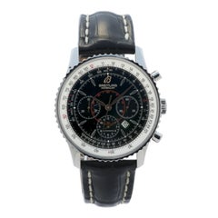 Certified 2010 Breitling Montbrillant A41370 Black Dial