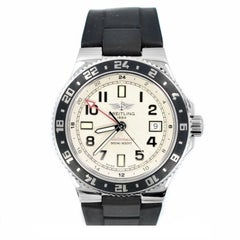 Certified 2010 Breitling Aeromarine A32380 Ivory Dial