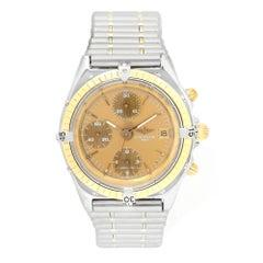 Certified Breitling Chronomat B13047 Blue Dial