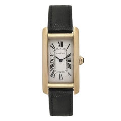 Cartier Tank 1720 22.5 mm Off-White Dial