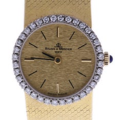 Baume & Mercier Classic Yellow Gold 26 mm Champagne Dial