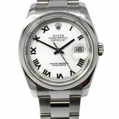 2008 Rolex Datejust 116200 36 mm White Dial