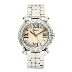 Chopard Happy Sport 278509-3010 w/ 6 mm Band, Stainless-Steel Bezel & Mother-Of-