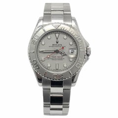 Rolex Yacht-Master 168622 With 6.5 in. Band & Silver Dial