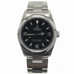Rolex Explorer 14270 With 7.7 in. Band & Black Dial