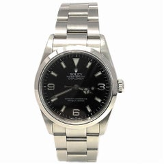 Rolex Explorer 114270 With 7.7 in. Band & Black Dial