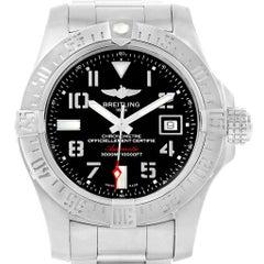 Breitling Aeromarine Avenger II Seawolf Men's Watch A17331 Box Papers