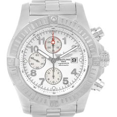 Breitling Aeromarine Super Avenger Black Dial Men's Watch A13370
