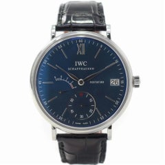 IWC Portofino IW510106 with Stainless-Steel Bezel and Blue Dial